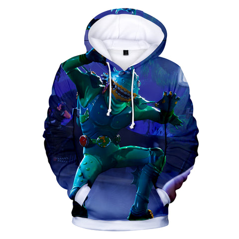 Fortnite Hoodies - Moisty Merman 3D Hoodie