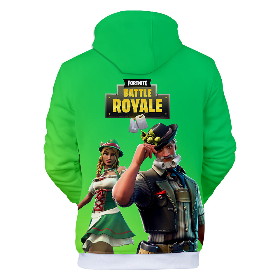 Fortnite Hoodies - Ludwig and Heidi 3D Hoodie