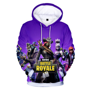 Fortnite Hoodies - Season 6 Dark Advent 3D Hoodie