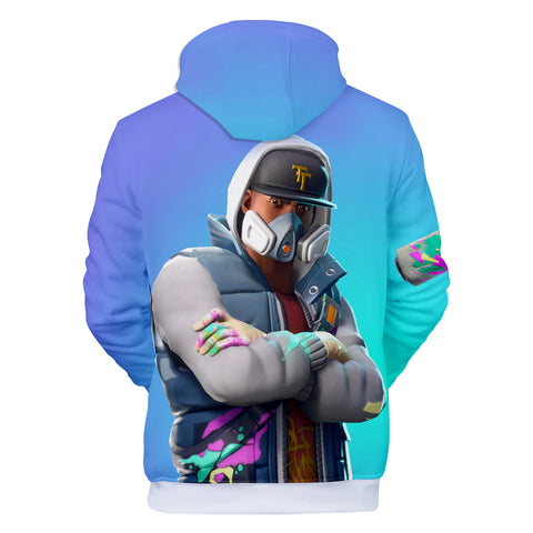 Image of Fortnite Hoodies - Abstrakt 3D Hoodie