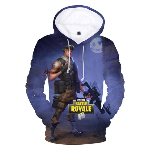Image of Fortnite Hoodies - PVE Hero Soldier 3D Hoodie