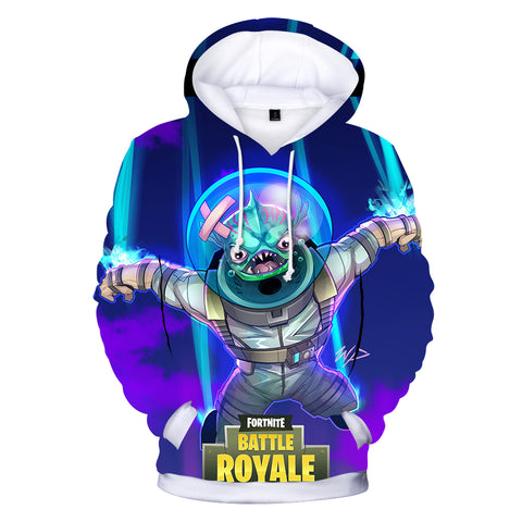 Image of Fortnite Hoodies - Leviathan Ultramarine 3D Hoodie