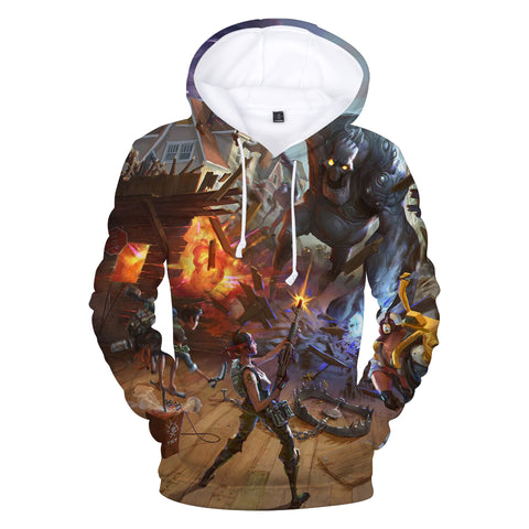 Image of Fortnite Hoodies - Game Undead Monster 3D Hoodie