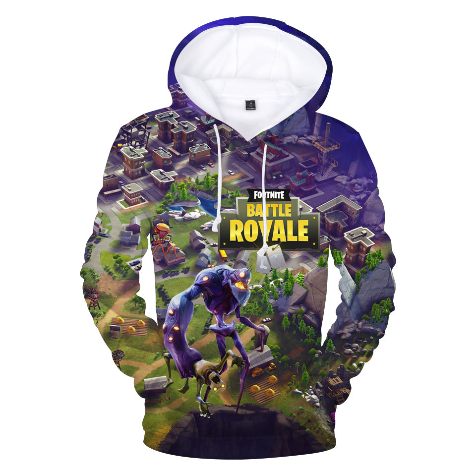Fortnite Hoodies - Smasher Monster 3D Hoodie