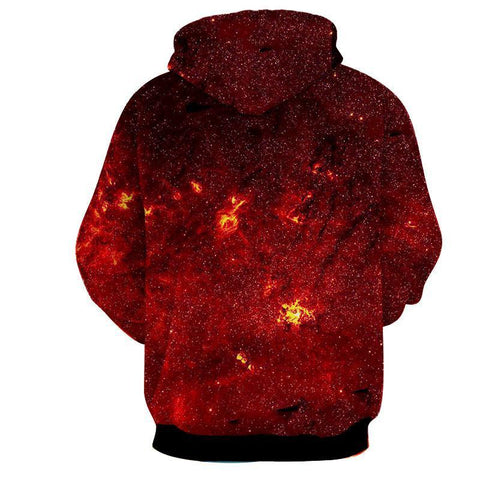 Image of GOKU Kaioken 10x God Dragon Ball 3D Hoodie