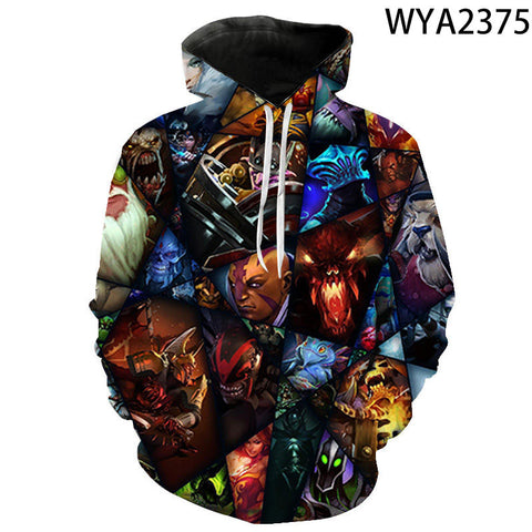 Image of Games Dota 2 3D Printed Hoodies - Fashion Sweatshirts Hooded Pullover