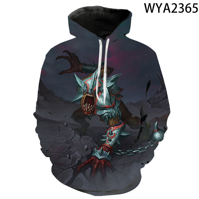 Games Dota 2 3D Printed Hoodies - Fashion Sweatshirts Hooded Pullover