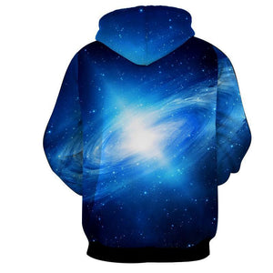 Dragon Ball Goku kame 3D Blue Hoodie