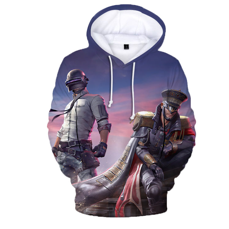 Game PUBG Playerunknown's Battlegrounds 3D Print Hoodies