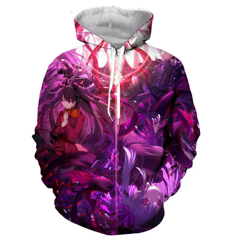 Image of Anime Fate Stay Night 3D Printed Hoodie Sweatshirt Pullover