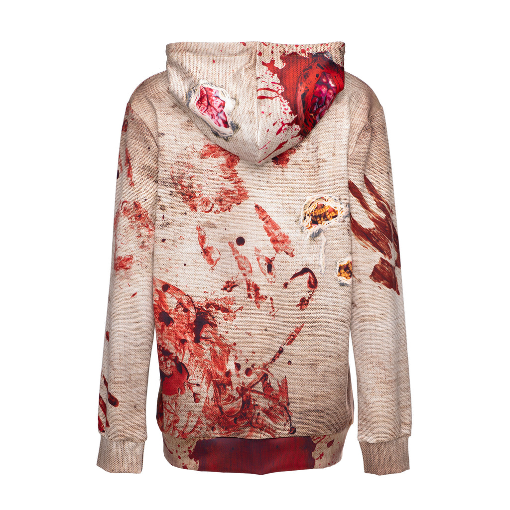 Halloween scary style hoodie