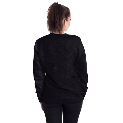 Image of Halloween Devil's Hand Round Neck Sweater