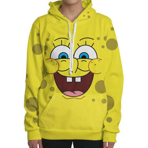 Image of Happy Spongebob Hoodie