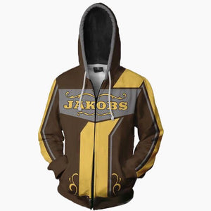 Borderlands 2 Siren Maya Hoodies - Zip Up Cosplay Hoodie