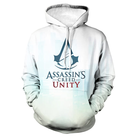 Game Assassin's Creed Valhalla 3D Print Hoodie Sweatshirts