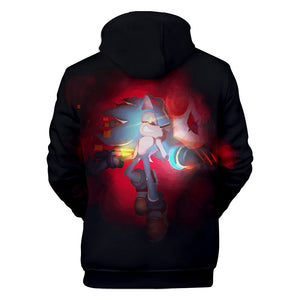 Sonic Mania Hoodie —— Black and Red Sonic Hoodie