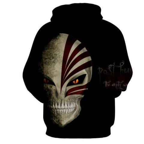 Image of Bleach Ichigo Kurosaki Hollow Mask 3D Hoodies