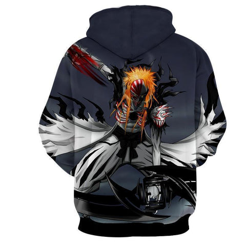 Bleach Ichigo's Hollow Full Transform 3D Hoodie