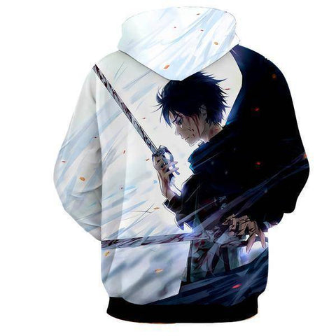 Image of Attack On Titan Hoodies Levi Hoodie
