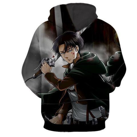 Image of Attack On Titan Levi Ackerman Hoodie