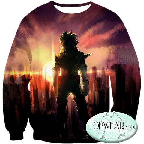 My Hero Academia Hoodies - One for All Hero Izuki Midoriya Zip Up Hoodie