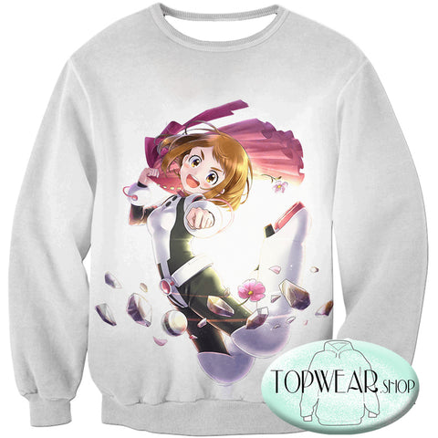 Image of My Hero Academia Hoodies - Zero Gravity Ochaco Uraraka Fan Pullover Hoodie
