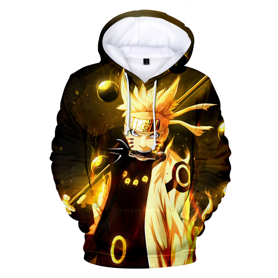 Naruto Hoodies - Naruto Anime Series Naruto Fighting Hoodie