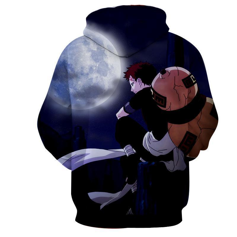 Naruto Young Garaa the Sand Lonely Hoodie