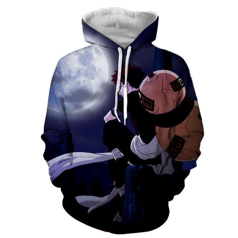 Image of Naruto Young Garaa the Sand Lonely Hoodie