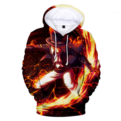 One Piece Hoodies - One Piece Anime Dark Zoro Series Super Cool Hoodie