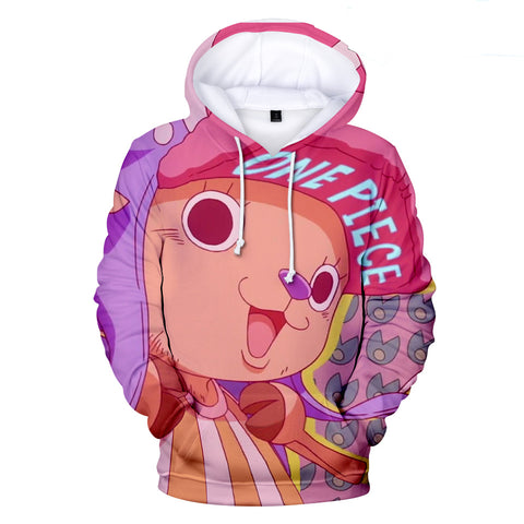 One Piece Hoodies - One Piece Series Anime Character Super Cute Hoodie