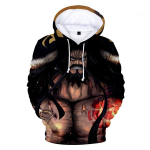 One Piece Hoodies - One Piece Series Anime Roroya Sauron Super Cool Hoodie