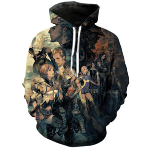 Final Fantasy XII Hoodies - The Zodiac Age 3D Hoodie