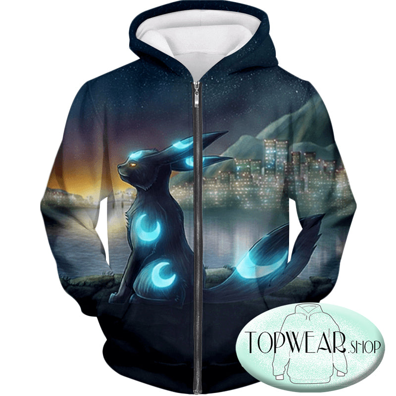 Pokemon Hoodies - Cool Dark Pokemon Hoodie