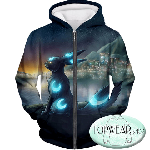 Image of Pokemon Hoodies - Cool Dark Pokemon Hoodie