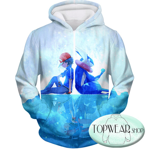 Image of Pokemon Hoodies - Awesome Pokemon 3D Zip Up Hoodie