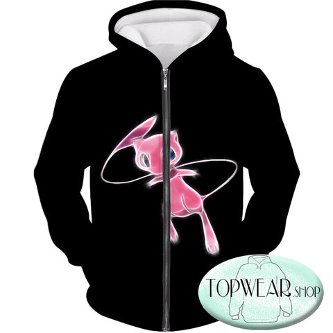 Image of Pokemon Sweatshirts - Psychic Pokemon Mew Sweatshirt
