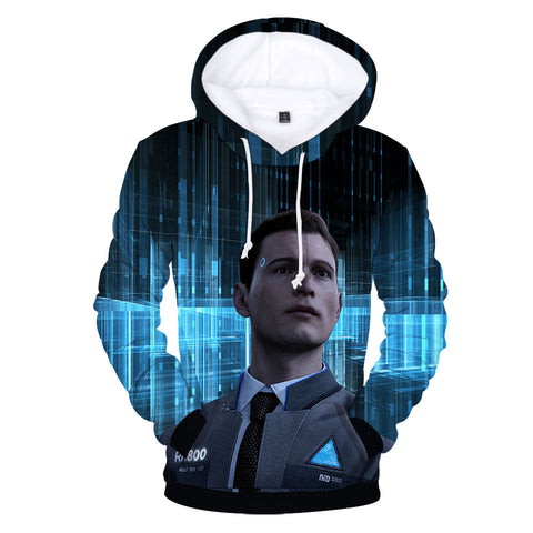 Detroit Hoodies - Detroit: Become Human Connor  Hoodie