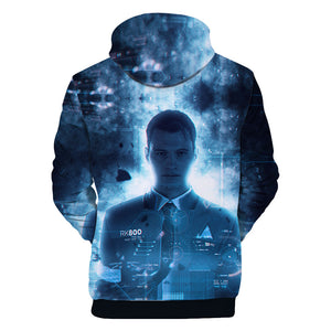 Detroit Hoodies - Detroit: Become Human Conner Super Cool Hoodie