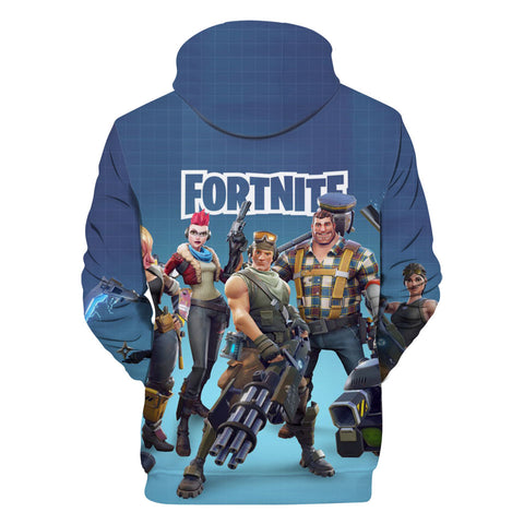 Fortnite Hoodies - Fortnite PVE Hero 3D Hoodie