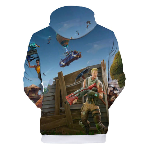 Image of Fortnite Hoodies - Fortnite Star-Spangled Trooper 3D Hoodie