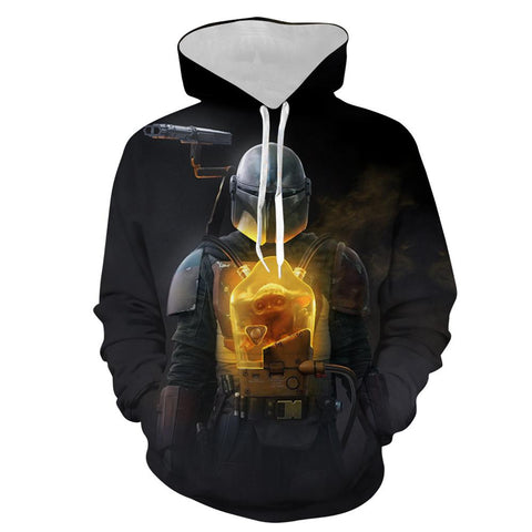 Image of Star Wars Sweatshirt Hoodie Pullover