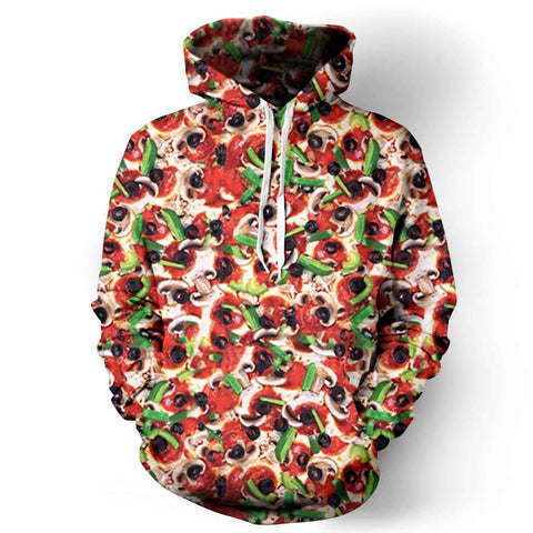 Image of Supreme Pizza Hoodie