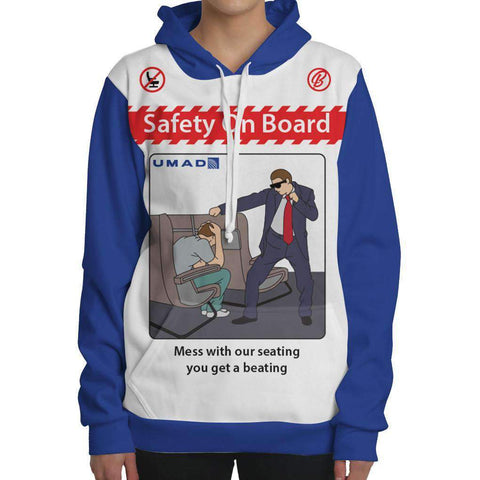 Image of United Safety Card Hoodie
