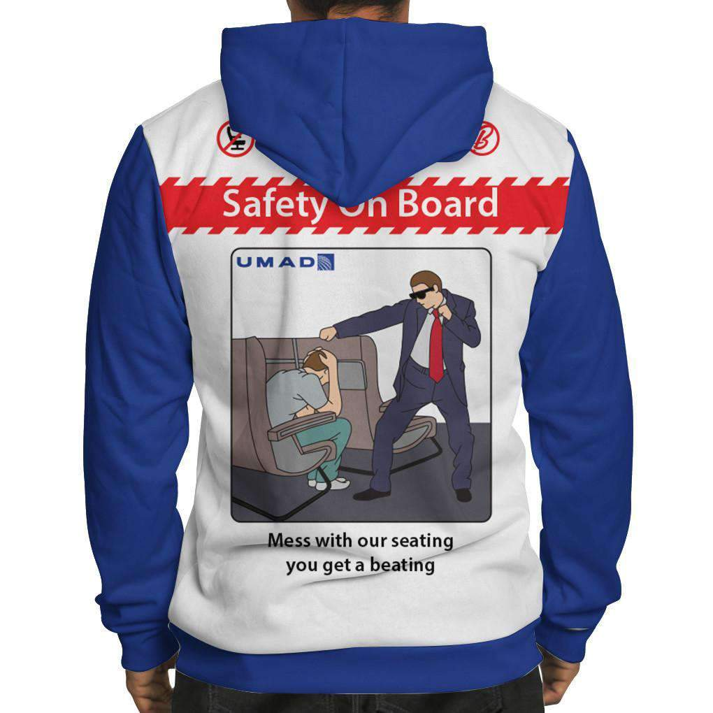 United Safety Card Hoodie