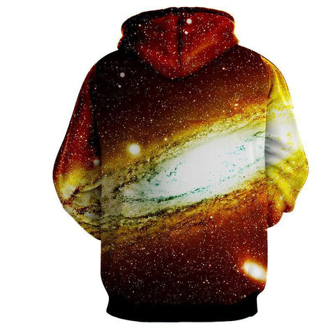 Image of Vegeta SSJ Red Dragon Ball 3D Hoodie