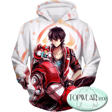 Image of Voltron: Legendary Defender Sweatshirts -Lion Paladin Keith Cool Graphic Sweatshirt