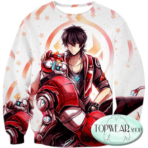 Voltron: Legendary Defender Sweatshirts -Lion Paladin Keith Cool Graphic Sweatshirt