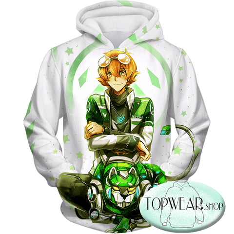Image of Voltron: Legendary Defender Hoodies - Lion Paladin Pidge Cool Pullover Hoodie
