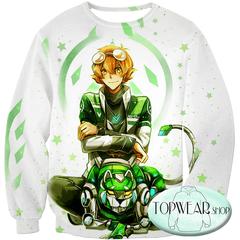 Voltron: Legendary Defender Hoodies - Lion Paladin Pidge Cool Pullover Hoodie
